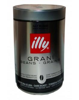 Кава ILLY Espresso Caffe In Grani темного обсмажування 250 г зернова ж/б (8003753918198)