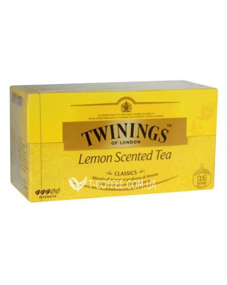 Чай TWININGS Lemon Scented Tea Лимон 25 х 2 г