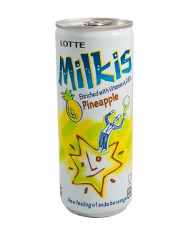 Напій MILKIS Pineapple Ананас газований безалкогольний 250 мл