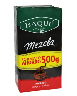 Кава CAFE BAQUE Mezcla мелена 500 г (8410684243693)