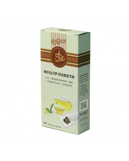 Фільтр-пакет для чаю 100 х 2000 мл ТМ ДУБРОВА к/п