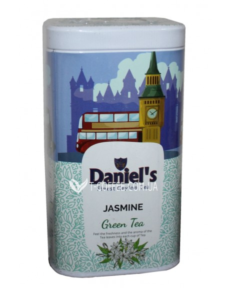 Чай Daniel's Jasmin Green Tea 100 г ж/б (4796017690599)