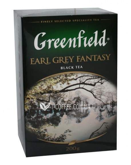 Чай Greenfield Earl Grey Fantasy Эрл Грей 200 г к/п (4823096801018)