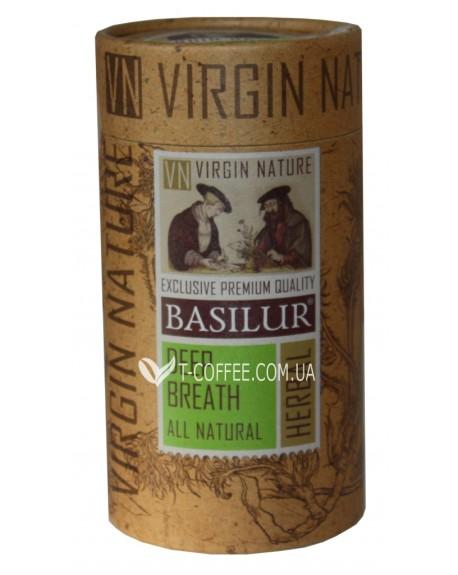 Чай BASILUR Deep Breath Глубокий Вдох - Природная 20 х 2 г тубус (4792252932166)
