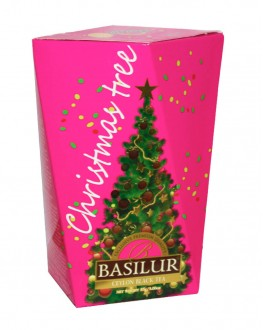 Чай BASILUR Ялинка Фіолетова - Різдвяна Ялинка 85 г к/п (7792112932715)