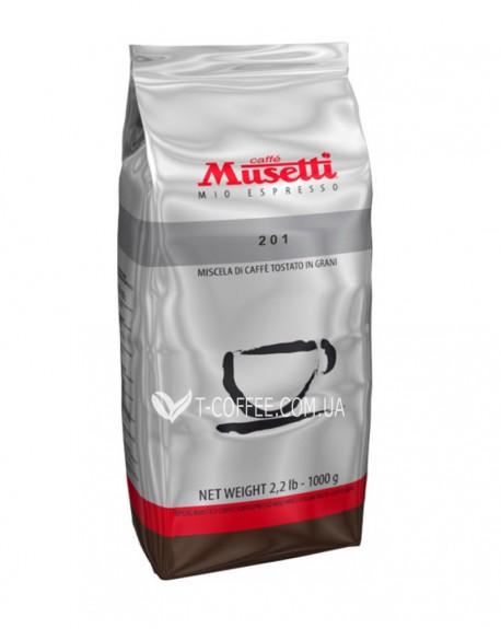 Кофе Musetti 201 1 кг зерновой