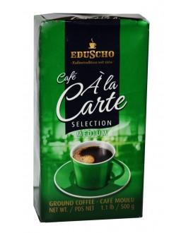 Кава EDUSCHO Cafe a la Carte Selection Medium мелена 500 г (40060670883446)
