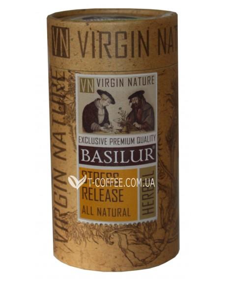 Чай BASILUR Streess Release Релакс - Природная 20 х 1,2 г тубус (4792252932173)