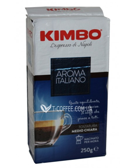 Кофе KIMBO Aroma Italiano молотый 250 г (8002200501112)