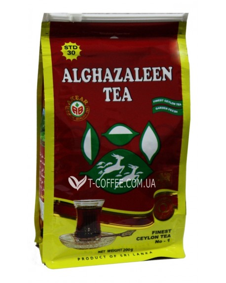 Чай AKBAR Do Ghazal Pure Ceylon Tea 200 г эконом. пак. (4796015723541)