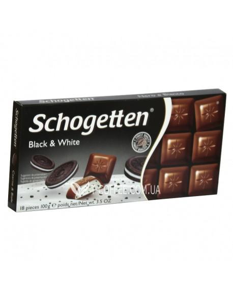 Шоколад Schogetten Black & White Черный & Белый 100 г