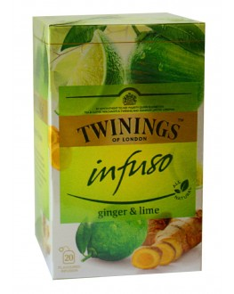Чай TWININGS Infuso Ginger Lime Имбирь Лайм 20 х 1,5 г (070177177652)