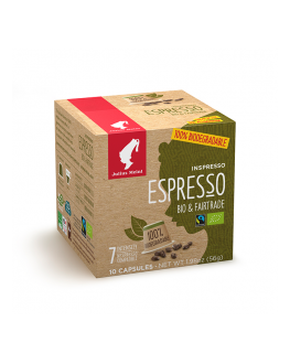 Кава JULIUS MEINL Inspresso Espresso Bio Fairtrade 100% Арабіка в капсулах 10 x 5,6 г