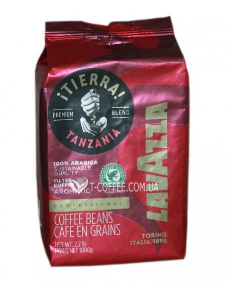 Кофе Lavazza Tierra Tanzania 1 кг зерновой