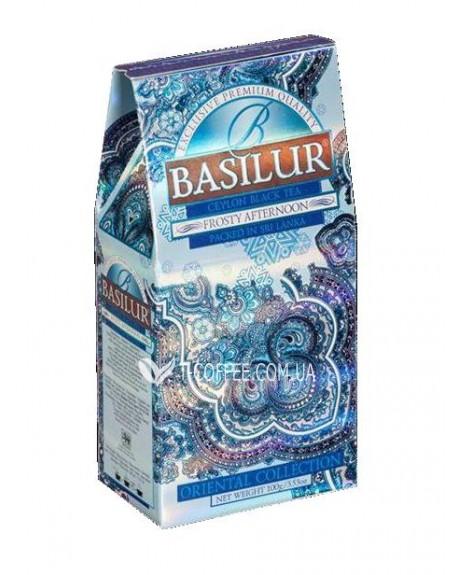 Чай BASILUR Frosty Afternoon Морозный Полдень - Восточная 100 г к/п (4792252916548)
