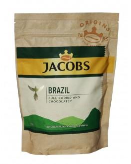 Кофе JACOBS Brazil растворимый 150 г эконом. пак. (8714599108260)
