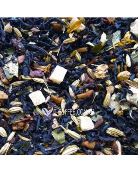 Сорочинская Ярмарка черный ароматизированный чай Чайна Країна