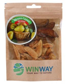 Яблуко Груша WINWAY сушені шматочки 50 г (4821912901188)