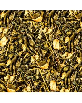 Дон Лимон зеленый ароматизированный чай Країна Чаювання 100 г ф/п