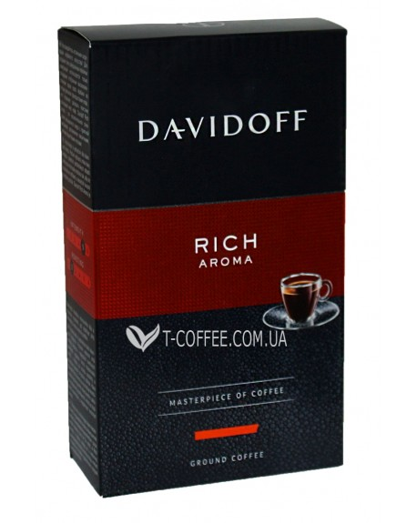 Кофе Davidoff Cafe Rich Aroma молотый 250 г (4006067048388)