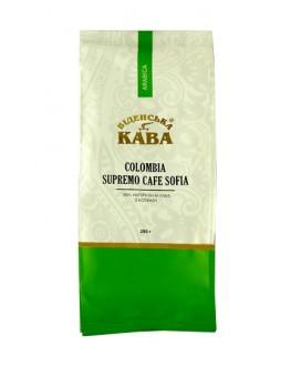 Кофе ВІДЕНСЬКА КАВА Арабика Колумбия Супремо София зерновой 250 г
