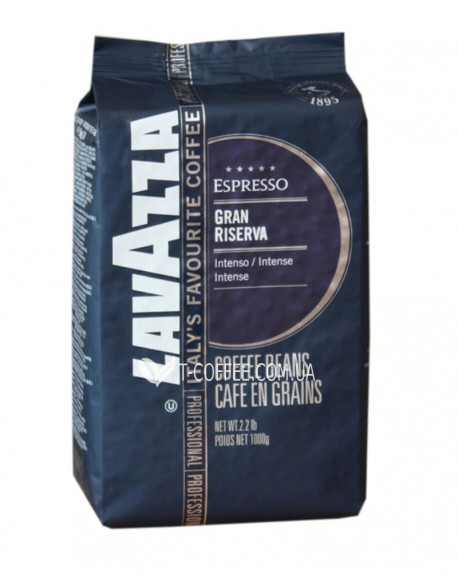 Кофе Lavazza Espresso Gran Riserva зерновой 1 кг (8000070022300)
