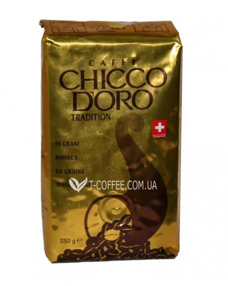 Кофе Chicco d'Oro Tradition зерновой 250 г (7610899110259)