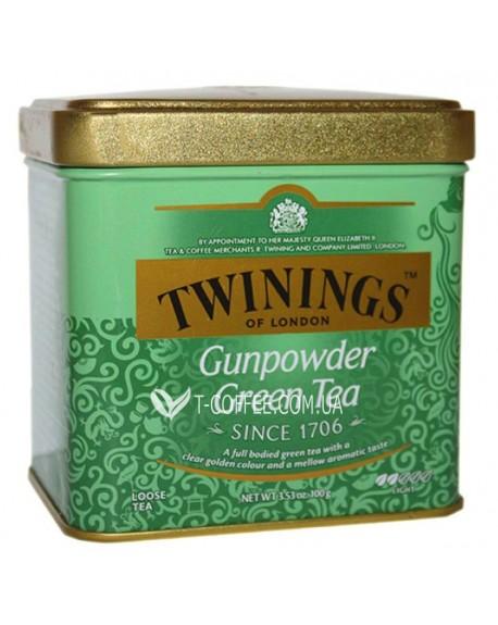 Чай TWININGS Gunpowder Green Зеленый Порох 100 г ж/б (070177029784)