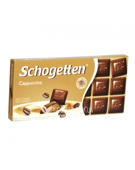 Шоколад Schogetten Cappuccino Капучино 100 г