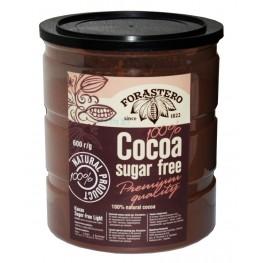 Какао FORASTERO 100% Cocoa без цукру 600 г...