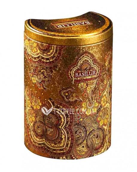 Чай BASILUR Golden Crescent Золотой Полумесяц - Восточная 100 г ж/б (4792252100565)