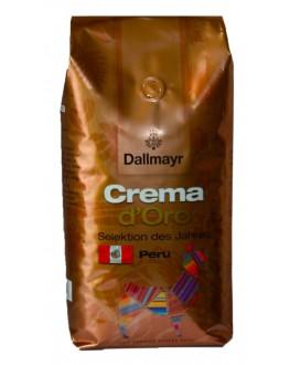 Кофе DALLMAYR Crema d'Oro Selection Des Jahres Peru зерновой 1 кг (4008167035503)