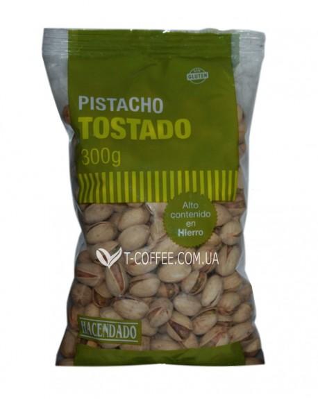 Фисташки жареные соленые Hacendado Pistachos tostado 300 г