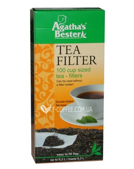 Фильтр-пакет Agatha's Bester для чая 100 х 300 мл (4003203410641)