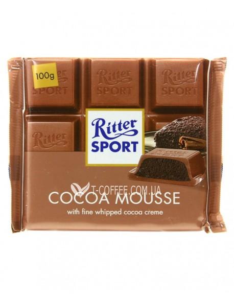 Шоколад Ritter Sport Kakao-Mousse Какао Мусс 100 г (4000417294005)