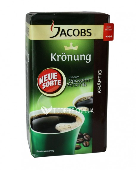 Кофе Jacobs Kronung Kräftig молотый 500 г