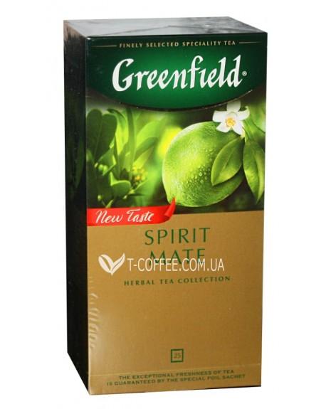 Чай Greenfield Spirit Mate Мате 25 х 1,5 г (4823096805856)