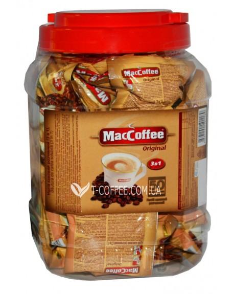 Кофе MacCoffee 3в1 Original Оригинал растворимый 50 х 20 г эконом.пак. (8887290101189)