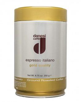 Кофе DANESI Gold Quality молотый 250 г ж/б (8000135717172)