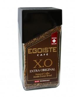 Кава EGOISTE XO Extra Original цільнозернова розчинна 100 г скл. б. (7610121710707)