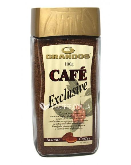Кофе GRANDOS Exclusive растворимый 100 г ст. б. (4009041100546)