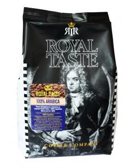 Кофе ROYAL TASTE 100% Arabica зерновой 500 г (8719324106115)
