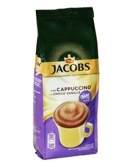 Капучино JACOBS Cappuccino Choco Vanille с шоколадом MILKA Ваниль 500 г (8711000524640)
