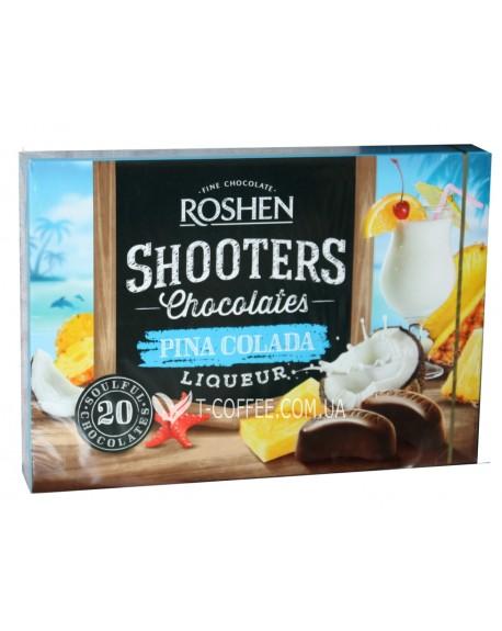 Конфеты Roshen Shooters Pina Colada Пина Колада 150 г в коробке (4823077620973)