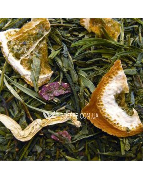 Бамбук-Берри зеленый ароматизированный чай Чайна Країна