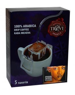 Кава TREVI Арабіка Ефіопія Іргачов 5 х 8 г дріп-пакет (4820140050996)