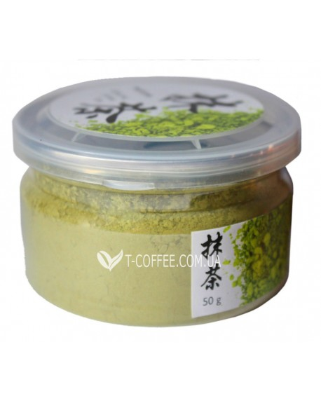 Матча зеленый элитный чай Османтус 50 г п/б