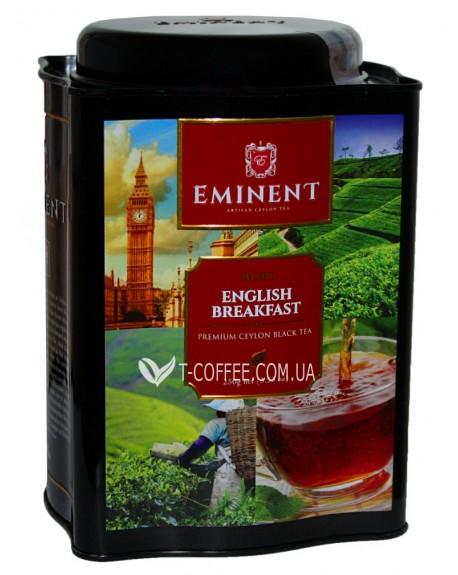 Чай EMINENT English Breakfast Английский Завтрак 250 г ж/б (4796007077256)