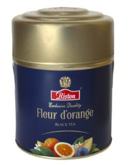 Чай RISTON Fleur D'Orange Флёр Д'Оранж 80 г ж/б