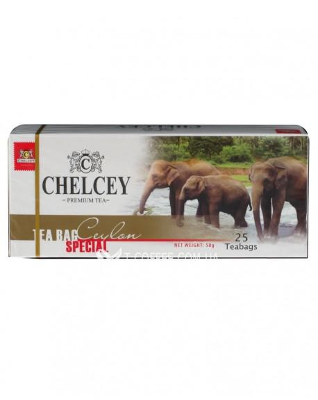 Чай CHELCEY Ceylon Special Цейлонский Особый 25 х 2 г
